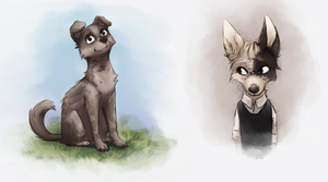 <b>Canines Sketches</b><br><i>Catoffee</i>