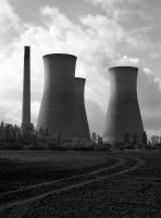 Cooling Towers by danhortonszar