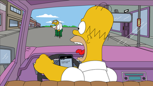 Hysterical Homer Status Update by Whatsome