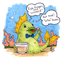 Fish Fingers and Custard by beckadoodles