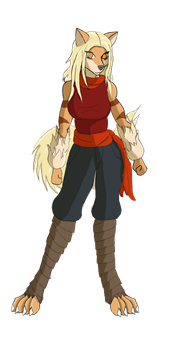 Pathfinder/Where the Tall Grass Grows: Rika by Streaked-Silver