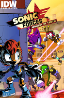 [FAKE/EDIT] IDW-Sonic Comic Cover by Nintrendodude