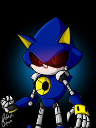 Metal Sonic by RahkshiChao