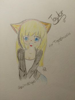 Taylor for tigerclaw666  by Squirrelflight0