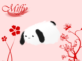 MIFFY by Whitefang45