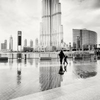 Dubai Reflection of the Burj Khalifa by xMEGALOPOLISx