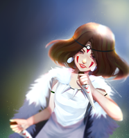 Princess Mononoke by tomiden