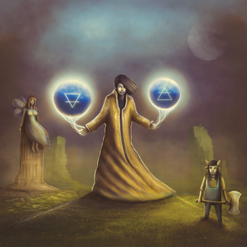 Sorcerer Spells Of Earth and Air by Oganso