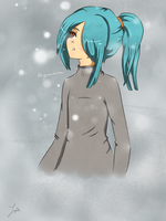 Kazemaru snow by Pililuv
