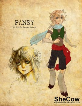 Pansy - Older Design by SheCow