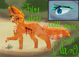 Rusty Joins ThunderClan by BloodyRiver52