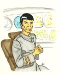 Science Officer Spock [The Motion Picture] by AloiInTheSky