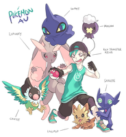 Aebr : Pokemon AU