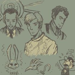 have some bioshock scribbles by mistress-samwise