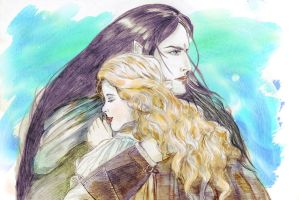 Fingon and Idril: You've came back! by Mirianes