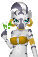 Anthro Zecora by sergeant16bit