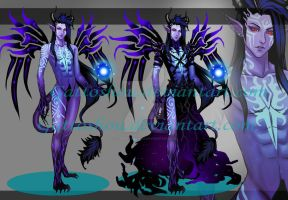 Collab MALE VALIX ADOPT 100 [ Auction ] [ closed] by CherrysDesigns