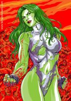 She-Hulk Color by fernandomerlo