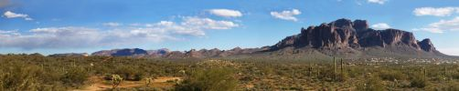 Superstition Mountain by eRality