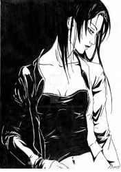 Black and white by sathilia