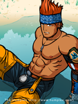 FF10 Wakka's Solo Details by humbuged