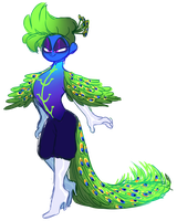 Peacock Prince by Scuff-Scotch