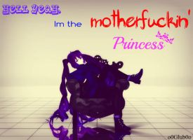 [MMD] Im the motherfuckin' princess. by o0Glub0o