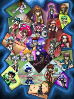 Metal Fight Beyblade Poster by WhiteMageOfTermina