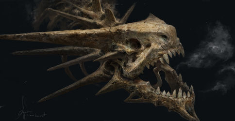 Bone Dragon by LeeKent