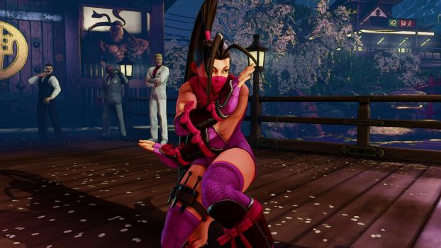 SFV Ibuki going to fight by Themilkguy