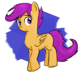 Scootaloo!! by TuxRug