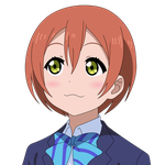 Love Live! - Playing Dumb Rin Vector by KuyaMark96