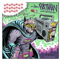 Retro Gotham - Boombox Batman by MisterBZD