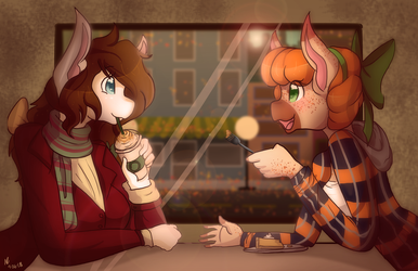 Autum Day Out by MsColorsplash