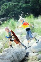 Final Fantasy XIII: Follow My Lead! by JoviClaire