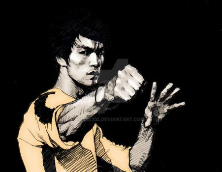Bruce Lee by kse332
