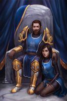 Commission: Marcus and Jezebel by JuneJenssen