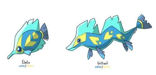 Fakeathon Day 12 - Tropical Fish by Involuntary-Twitch