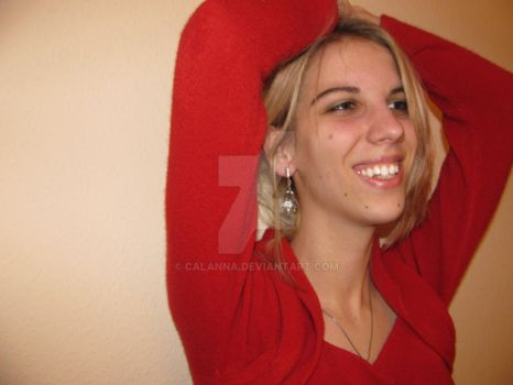 Lady in red 3 by calanna