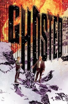 Ghosted 19 Cover by urban-barbarian