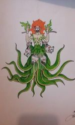 Scylla (According to her lore) by Eternalshadow64