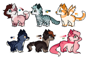 dog adopt auction // 1/6 open // cheap by hotcrossbvns