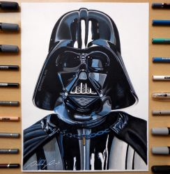 Darth Vader | By: David Dias by Daviddiaspr