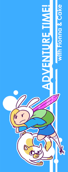 AT: Fionna+Cake Bookmark by ky-nim