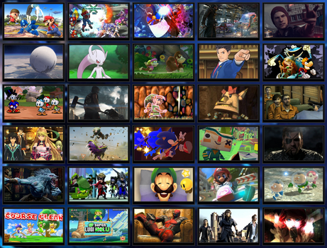 Top 30 Games of E3 2013 (Re-post) by Kirby-Kid