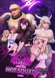Giselle and the Hot Squad Book 2 Cover by ParkdaleArt