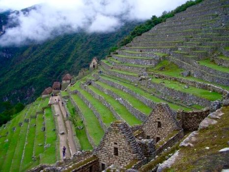 Machu Picchu cultures were made already in terrace by JaneR5019