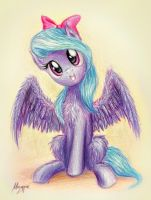 Fluffy Flitter wants to hug you :3 by TheFlyingMagpie