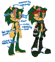 Chaotic Mobius :: Scourge Reference by 0Abarai0