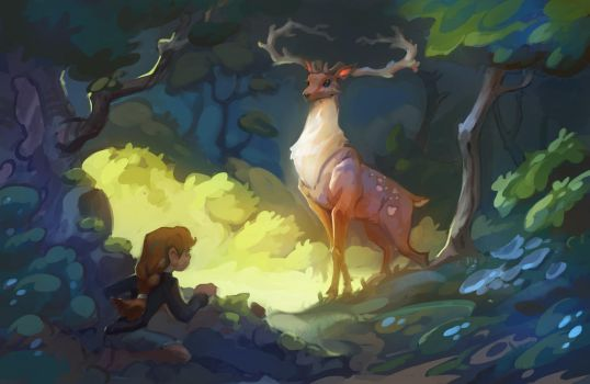 King of the forest by Nieris